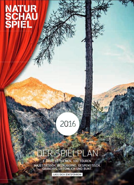 NATURSCHAUSPIEL OÖ Karte 2016