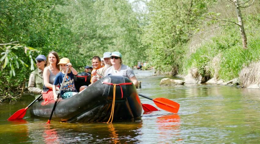 Bootssafari durch die Wildnis