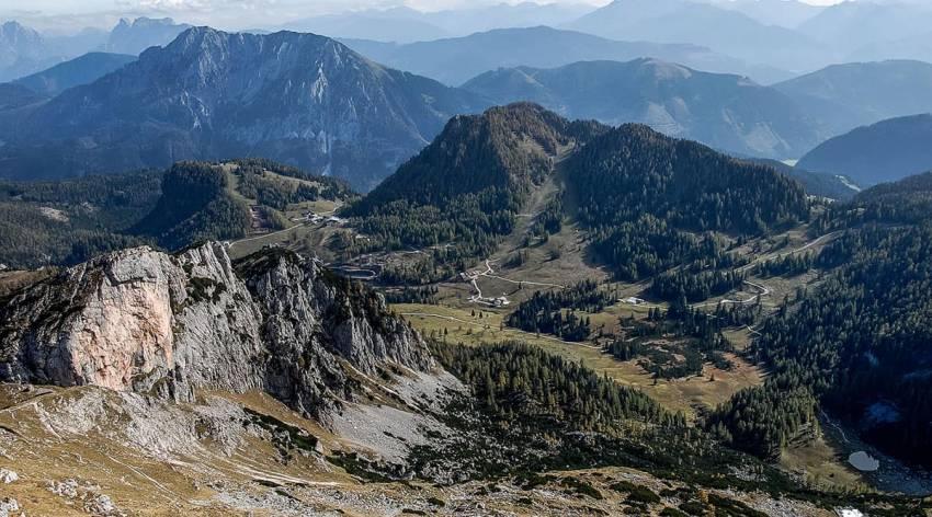 Bergparadies Warscheneck - Vom Roten-Wand-Sattel zum Gleinkersee