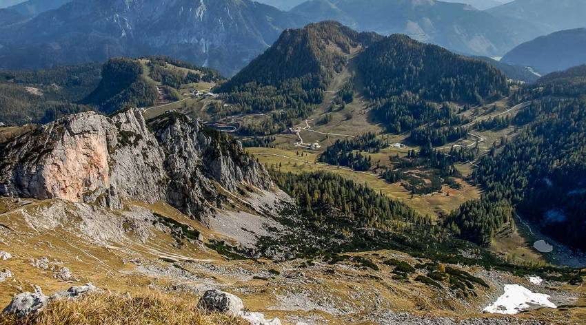 Bergparadies Warscheneck - über's Hochgebirge zur Dümlerhütte