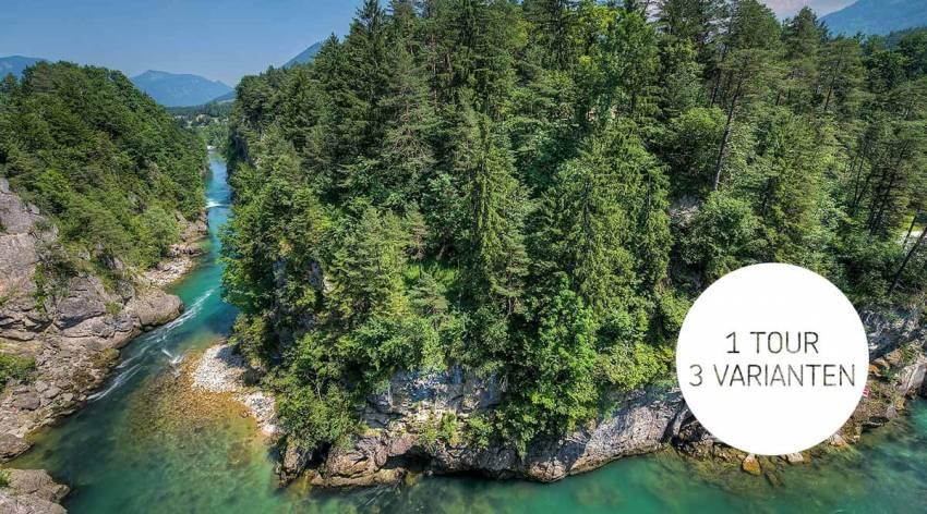 Flussexpedition in Steyr und der Nationalparkregion