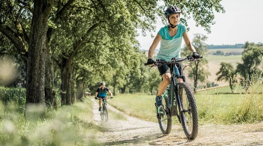 Mit dem E-Bike vom Kurpark in den Naturpark