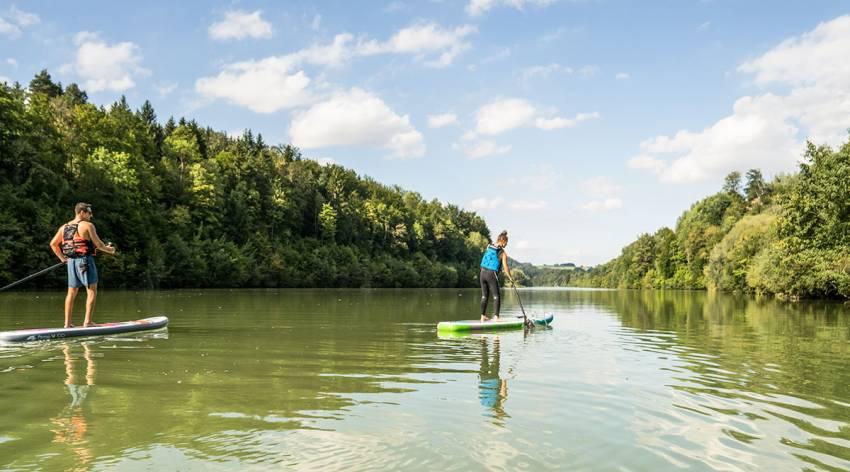 Flussexpedition auf der Enns