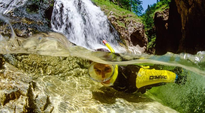 Flussexpedition in die Unterwasserwelt